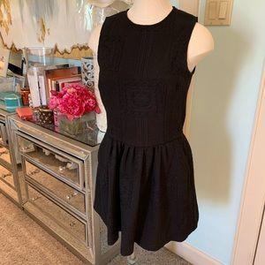 Zara Black Sleeveless Sweater Dress Sz S